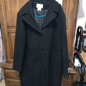 Long Cashmere Blend Coat Fabric Made in Italy 🇮🇹